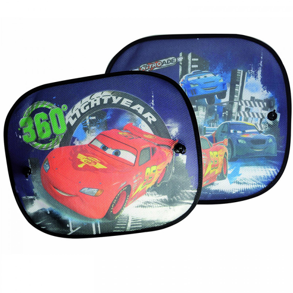 SET PARASOLARE LATERALE CU VENTUZE DISNEY CARS  0