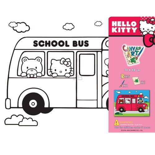 SET PICTURA CU TABLOU HELLO KITTY 2