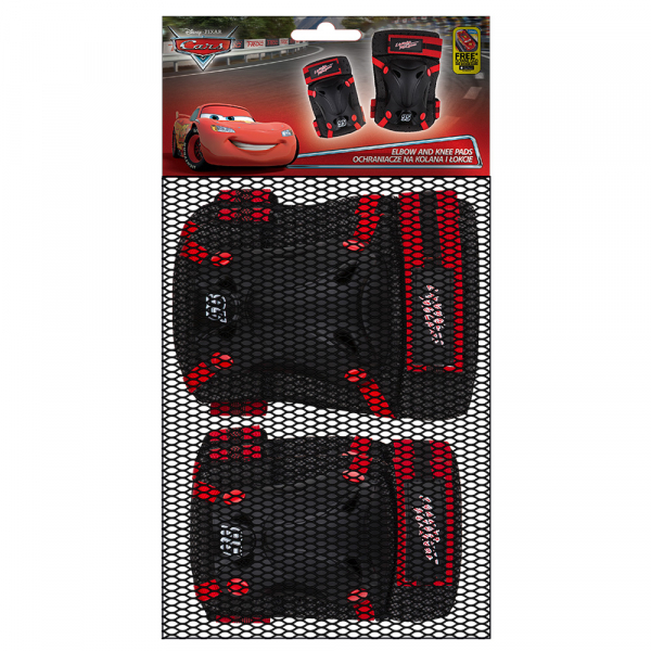 SET PROTECTIE GENUNCHERE/COTIERE DISNEY CARS 1
