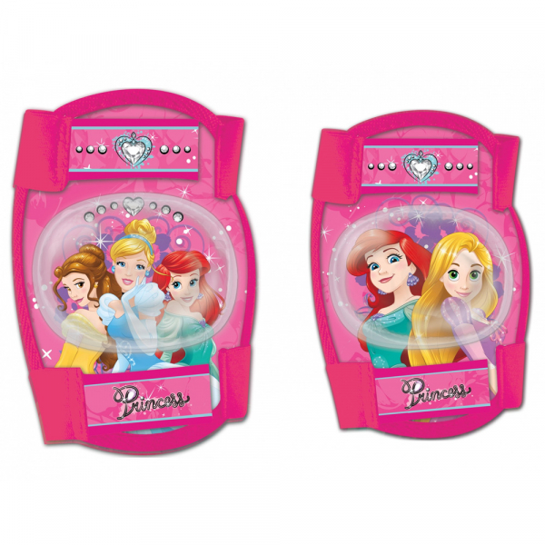 SET PROTECTIE GENUNCHERE/COTIERE DISNEY PRINCESS 0