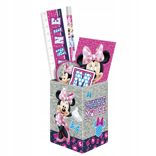 SET RECHIZITE CU SUPORT PIXURI DISNEY MINNIE MOUSE 0