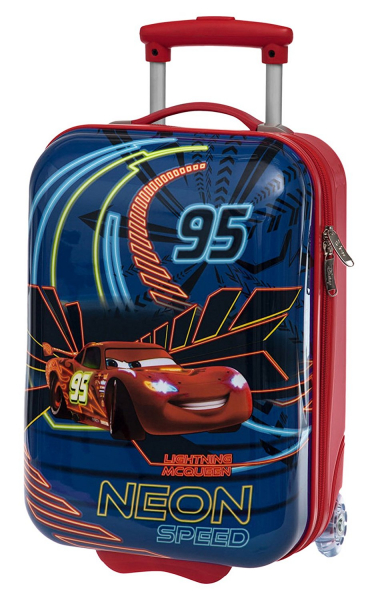 TROLER DE CALATORIE 55 CM NEON DISNEY CARS