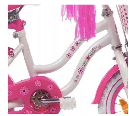 Bicicleta copii Sisi 12 inch, Mexller, roz 2