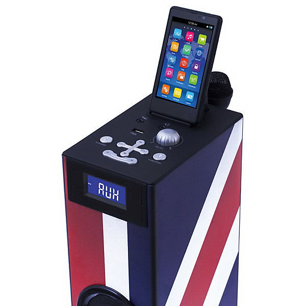 SISTEM AUDIO BLUETOOTH CU MICROFON KARAOKE LONDON  BIGBEN 1
