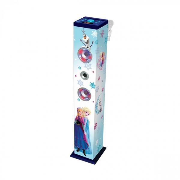 Sistem karaoke copii Buetooth cu microfon Disney Frozen, 2x20 W, 100 cm 0