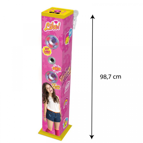 SISTEM AUDIO BLUETOOTH KARAOKE  SOY LUNA 2