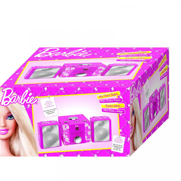 SISTEM STEREO HIFI CU CD MINI BARBIE STYLE 1