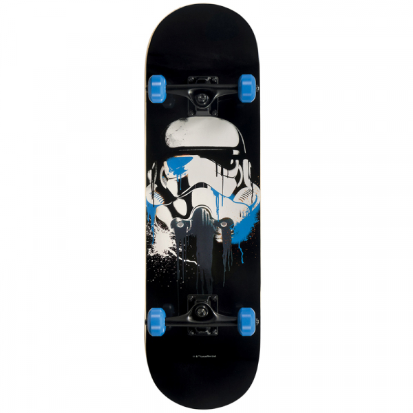 SKATEBOARD FADING TROOPER STAR WARS  0