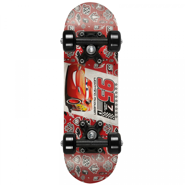 SKATEBOARD LIGHTNING MCQUEEN DISNEY CARS
