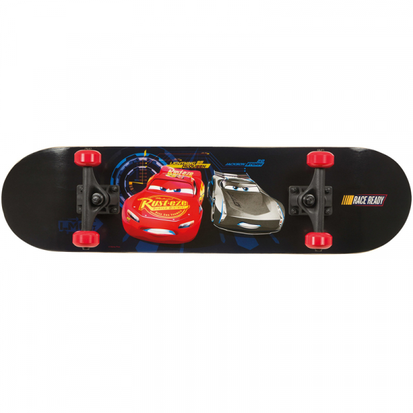 SKATEBOARD RACE READY DISNEY CARS 0