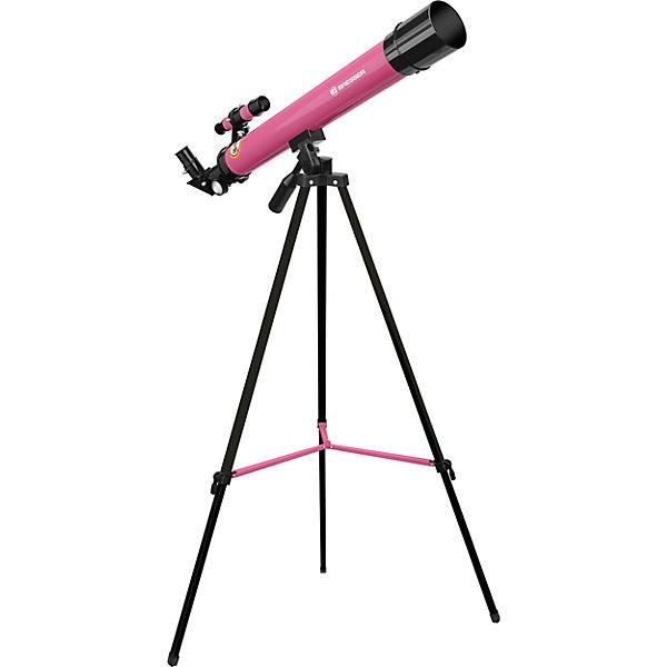 TELESCOP REFRACTOR PENTRU COPII BRESSER 45/600 AZ PINK