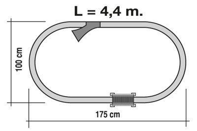 TRENULET ELECTRIC ARCO PEQUETREN 1
