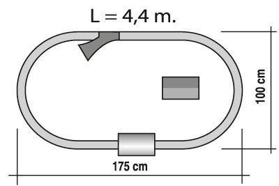 TRENULET ELECTRIC CALATORI DE LUX PEQUETREN 1