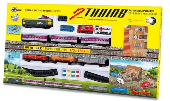trenulete-electrice-jucarii-pt-copii-locomotiva-electrica-vagoane-calatori-marfa-macheta-diorama-de-vis-pret 1