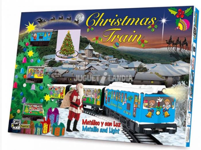 TRENULET ELECTRIC CHRISTMAS PEQUETREN [0]