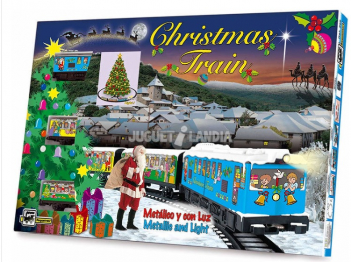 TRENULET ELECTRIC CHRISTMAS PEQUETREN [5]