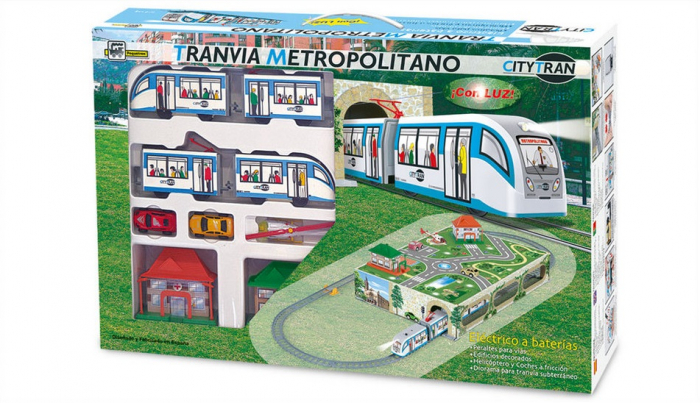 trenulet-electric-tramvai-metropolitan-copii-baieti-jucarie-pequetren-105-pentru-3-4-5-6-7-ani 2