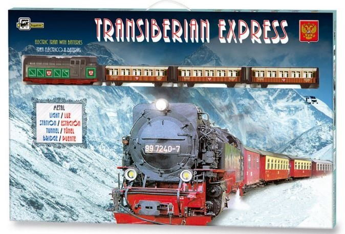 TRENULET ELECTRIC TRANS-SIBERIAN EXPRESS PEQUETREN 1