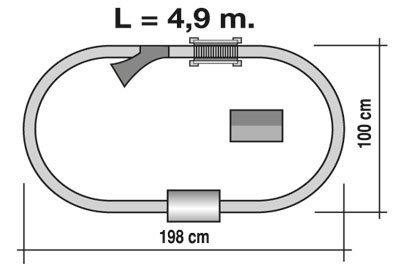 TRENULET ELECTRIC TRANS-SIBERIAN EXPRESS PEQUETREN 2