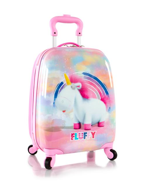 trolere-calatorie-copii-fete-ABS-unicorn-Roz-46-cm 0