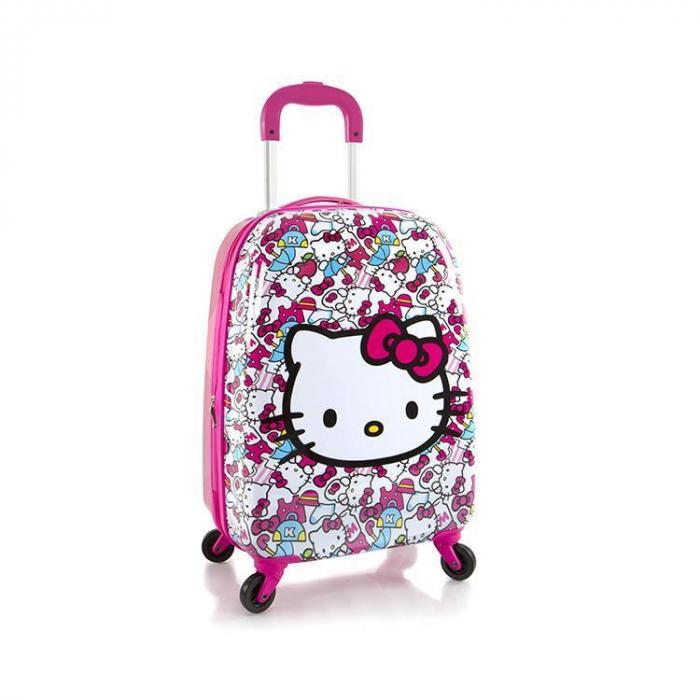 Troler ABS Copii, Heys, Hello Kitty, Roz, 51 cm [0]