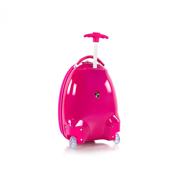 Troler-calatorie-ABS-Copii-Heys-Peppa-Pig-Pink-46-cm 2