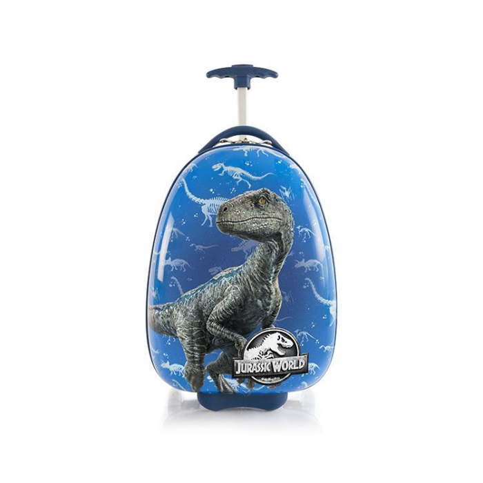 Troler ABS Copii, Heys, Jurassic World, Blue, 46 cm 0