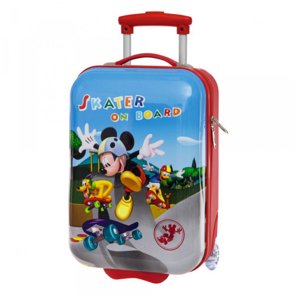TROLER DE CALATORIE 48CM SKATER DISNEY MICKEY MOUSE 0