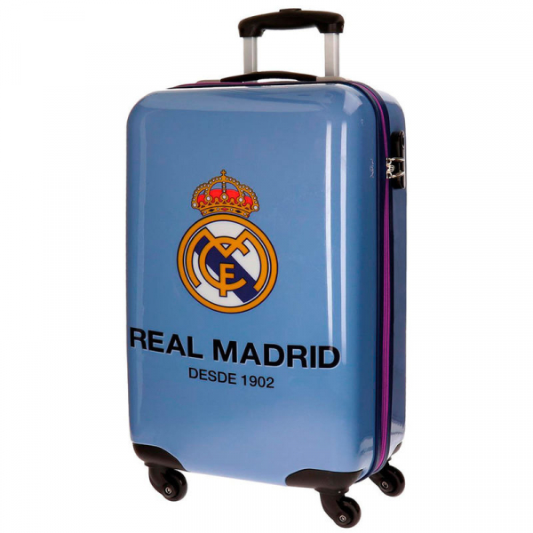 TROLER DE CALATORIE ABS 55CM REAL MADRID 0
