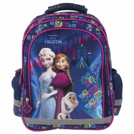 Ghiozdan scoala copii, Fete, Disney Frozen0