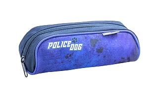 "Set ""Police Dog"" Ghiozdan Ergonomic echipat, 2 penare si sac sport1"