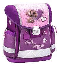 Set Cute Puppy Ghiozdan Ergonomic Copii, Sac sport si doua Penare4