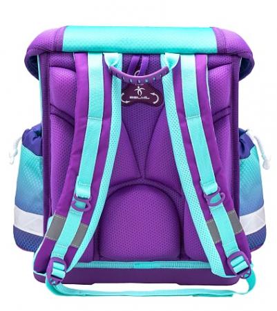 """Set """"Purple Mermaid"""" Ghiozdan Echipat, 2 Penare, Sac Sport scoala5"""