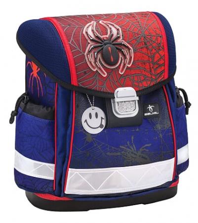 Ghiozdan Spiders Ergonomic echipat cu 2 penare si sac sport3