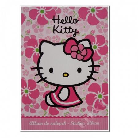 ALBUM STICKERE FLOWER HELLO KITTY0