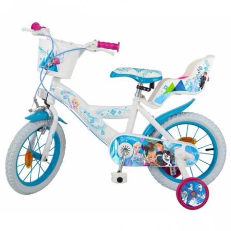 Bicicleta copii, Fete, Disney Frozen, 14 inch, 4-6 ani, Toimsa1