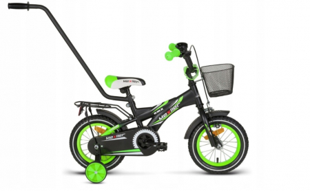 Bicicleta copii BMX 12 inch, Mexller, verde0