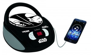BOOMBOX  RADIO/ CD PLAYER  STAR WARS0