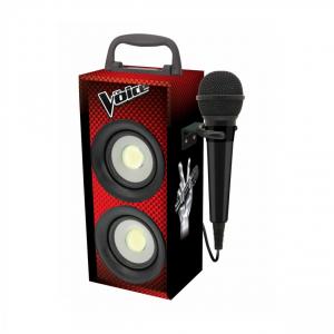 Boxa portabila copii cu Bluetooth si Microfon, 4 W, Vocea Romaniei0