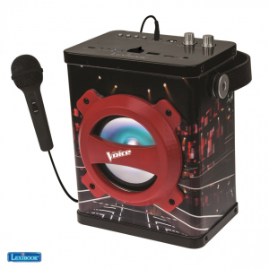 Boxa portabila copii cu Bluetooth si Microfon, 10 W, Vocea Romaniei