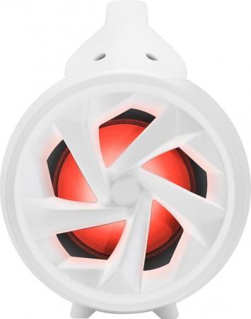 Boxa portabila luminoasa cu microfon Party BT Pro, BigBen, alb, 75W1