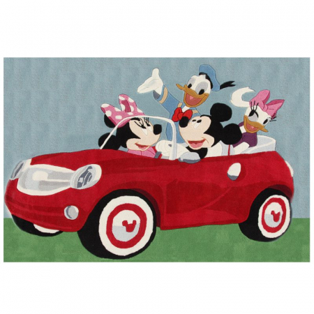 Covor camera copii Premium, Disney Mikey Mouse, 133x190 cm, Antiderapant1