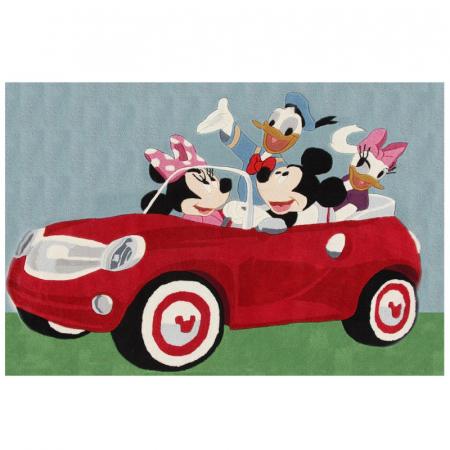 Covor camera copii Premium, Disney Mikey Mouse, 133x190 cm, Antiderapant0