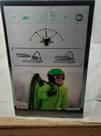 Sanie Copii Skidrifter  cu buton de program de stabilitate manuală mystic green1