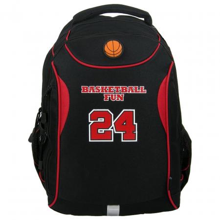 Ghiozdan scoala copii, Baieti, Basketball FUN24, 42 cm0