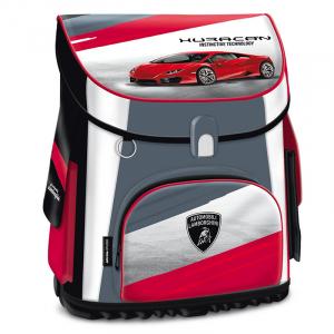 Ghiozdan scoala copii Erogonomic, Baieti, Lamborghini TURBO, 41 cm0
