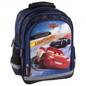 Ghiozdan scoala copii, Baieti, MCQUEEN Disney CARS, 38 cm0
