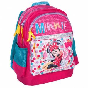 Ghiozdan scoala copii, Fete, Music Disney MINNIE MOUSE, 42 cm