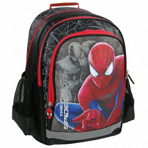 Ghiozdan scoala copii, Baieti, Ultimate SPIDERMAN, 38 cm