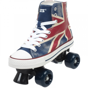 PATINE CU ROTILE ROCES ENGLAND SNEAKERS